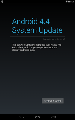 Update Android 4.4