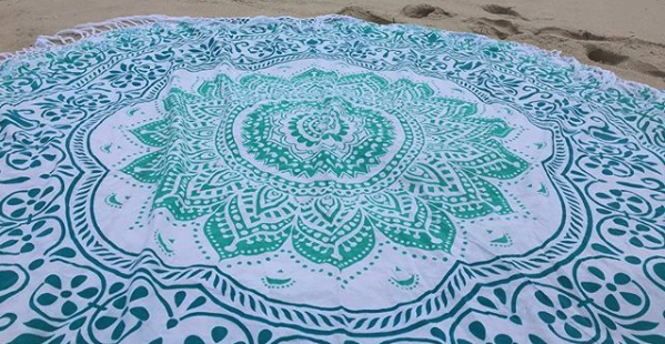The Tides Project Beach Towel