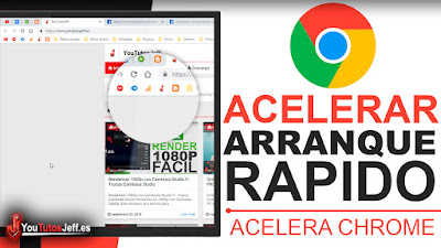 Acelerar Inicio de Google Chrome - Acelerar Chrome