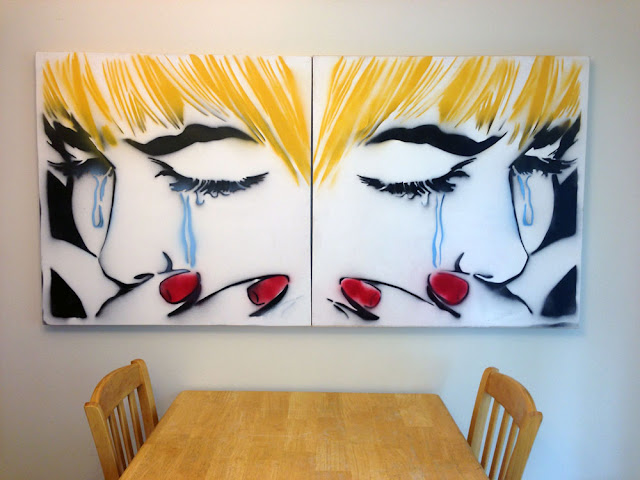 eric baughman aesthetic laboratory graphic design fine art painting