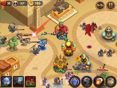 Realm Defense: Hero Legends TD screenshot 0
