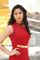 Telugu Actress Zahida Sam Latest Pos in Red Gown at RF Films New Movie Opening  0003.JPG