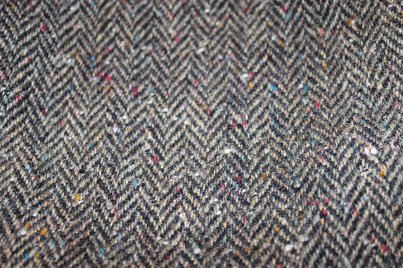 "Twill Stoff ""tweedland"" The Gentlemen's Club: Donegal Tweed"