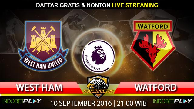 Prediksi West Ham vs Watford 10 September 2016 (Liga Inggris)