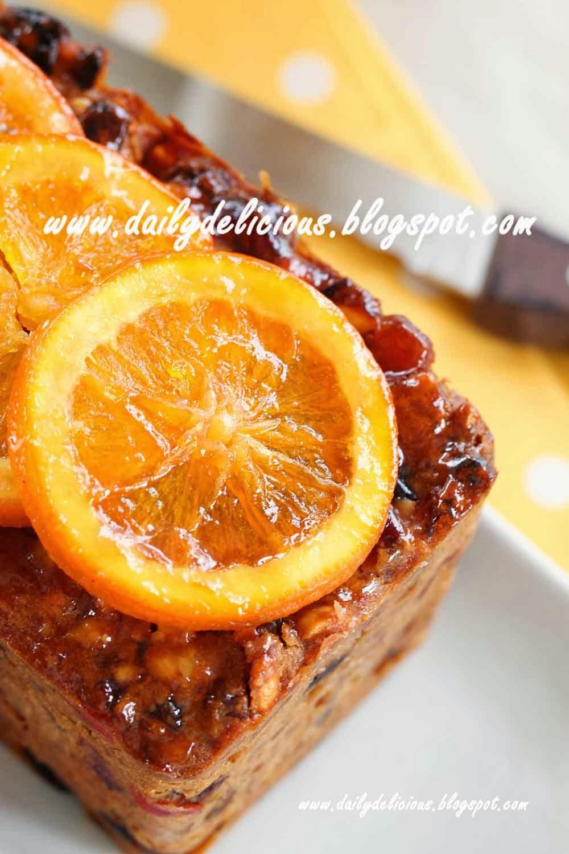 Dailydelicious Cognac Fruit Cake Delicious Cake That