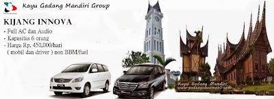 KGM rental mobil innova di Padang