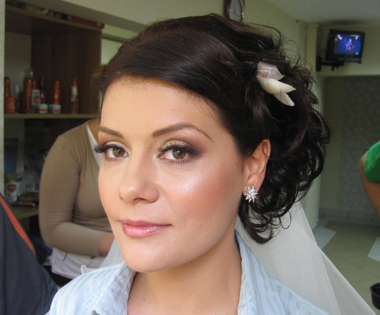 Machiaj Mireasa Diafan Suzana Visan Professional Make Up Artist