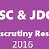 JSC Result 2016 Board Challenge System (Re-Scrutiny)