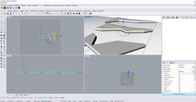 Digital Fabrication and Design: S100 - RhinoGold - 3D Texture