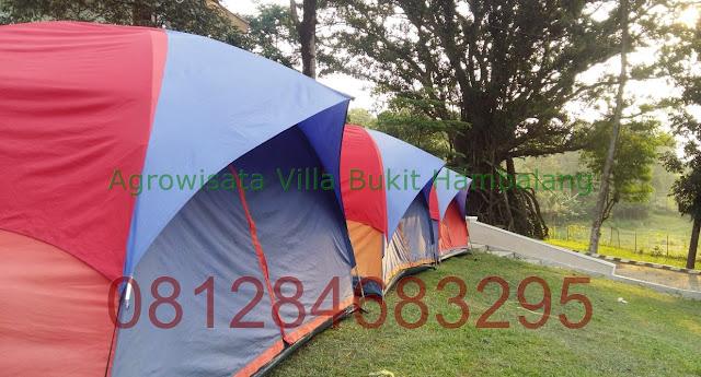 Tempat Camping Keluarga kawasan Sentul Bogor
