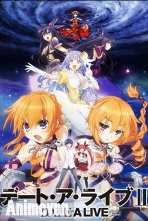 Date A Live 2 - Date A Live Season 2 2014 Poster