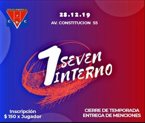 Seven Interno de Católica Vaqueros RC