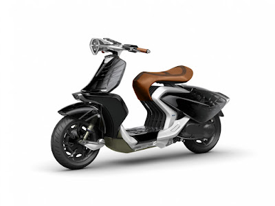 Yamaha 04Gen Concept Scooter image
