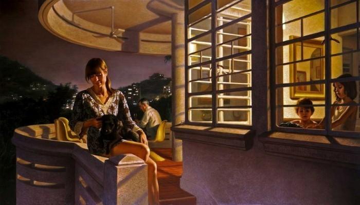 Австралийский художник-портретист. Ralph Heimans