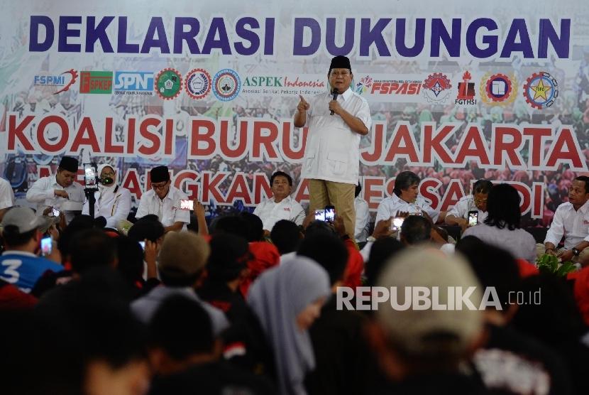 Prabowo: Saya Minta Sekali Ini Saja, Tanggal 19 (April) Turun Semua