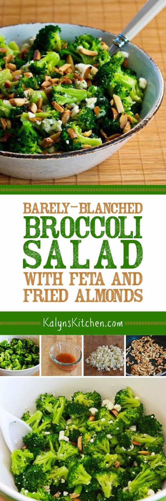 Kalyn's Kitchen®: Barely-Blanched Broccoli Salad with Feta ...