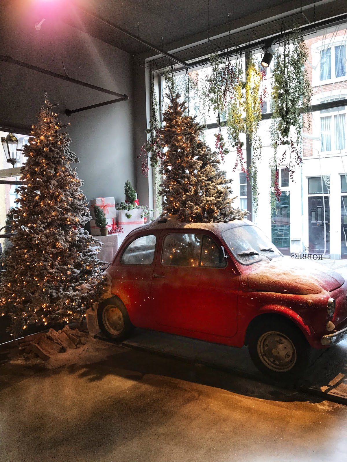 Driving home for Christmas at Robbies Den Bosch