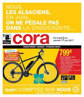 Catalogue Cora 06 au 17 Juin 2017
