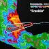 Franklin impactará en las próximas horas en Veracruz, entre las poblaciones Vega de Alatorre y Laguna Verde