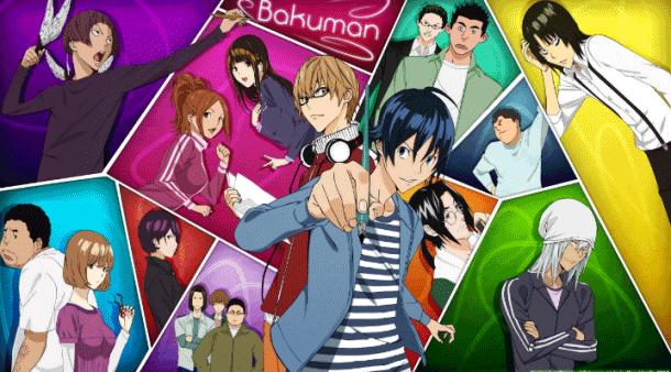 Bakuman - Daftar Anime Buatan Studio J.C.Staff Terbaik