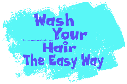 How to Wash Your Hair the Easy Way png