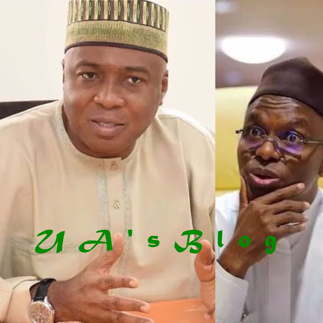 He Is Suffering From Diarrhoea Of The Mouth - Saraki Blasts El-Rufai