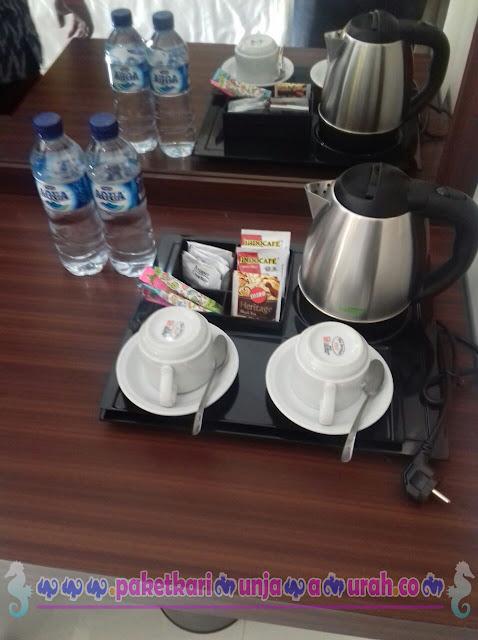 sajian fasilitas di java paradise hotel karimun jawa