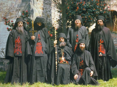 Αποτέλεσμα εικόνας για αγιορειτες μοναχοί