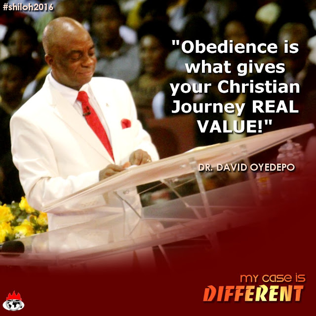 Powerful #Quotes From Bishop David Oyedepo During #Shiloh2016 #MyCaseIsDifferent -Day 4