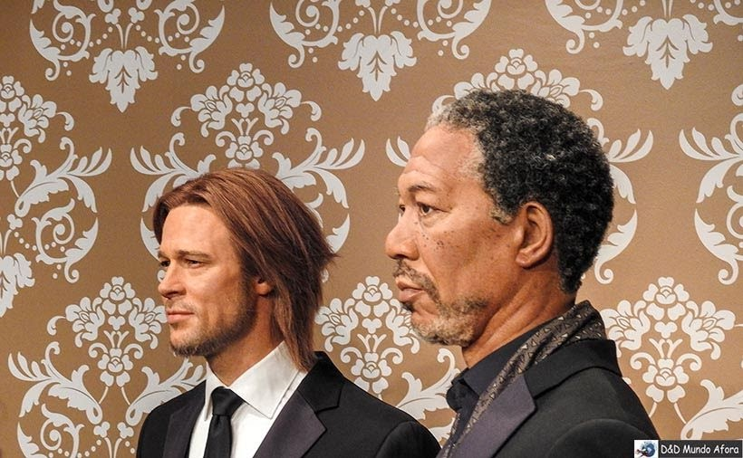 Brad Pitt e Morgan Freeman Madame Tussauds: Como visitar o museu de cera de Londres