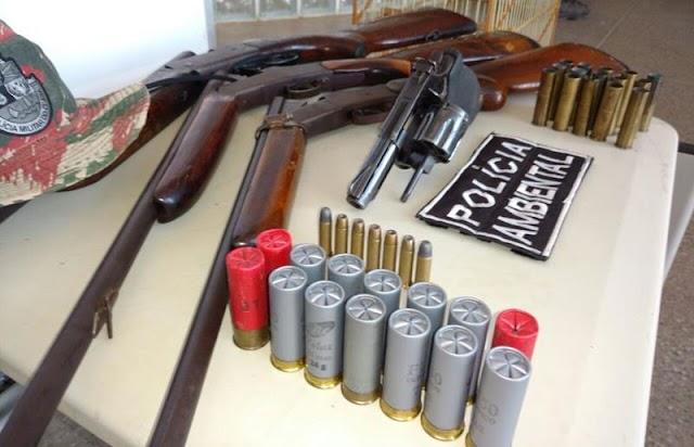 Mais de 500 armas de fogo são retiradas de circulação no Cariri