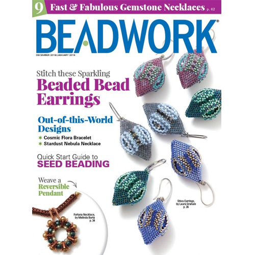 My Designs are in Beadwork!