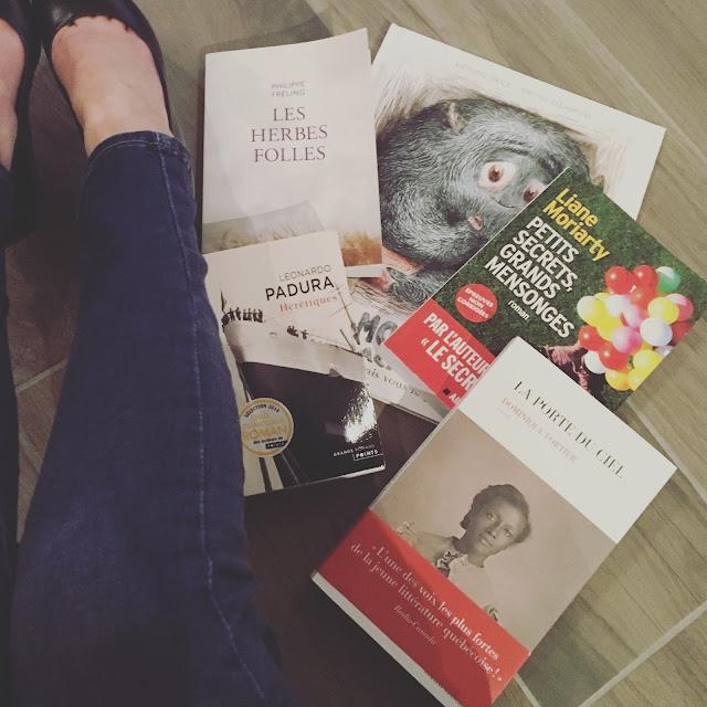Bilan des lectures de Janvier 2017 par Mally's Books