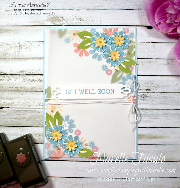 There are so many cool small flowers in the Bloom By Bloom stamp set.