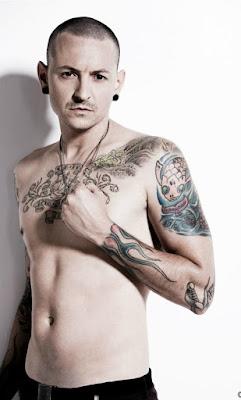 Chester Bennington fotos de tatuajes