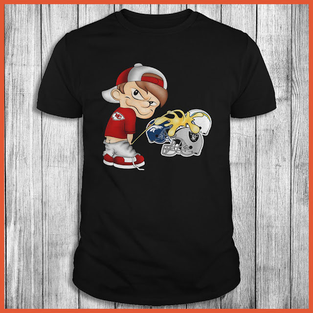 Kansas City Chiefs Piss On The Raiders, Chargers, Broncos Shirt