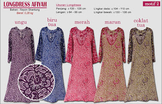 Longdress afiyah motif batik yang cantik dan anggun-afiyah 2