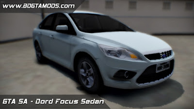 Ford Focus Sedan 2009 ImVehFT para GTA San Andreas 1