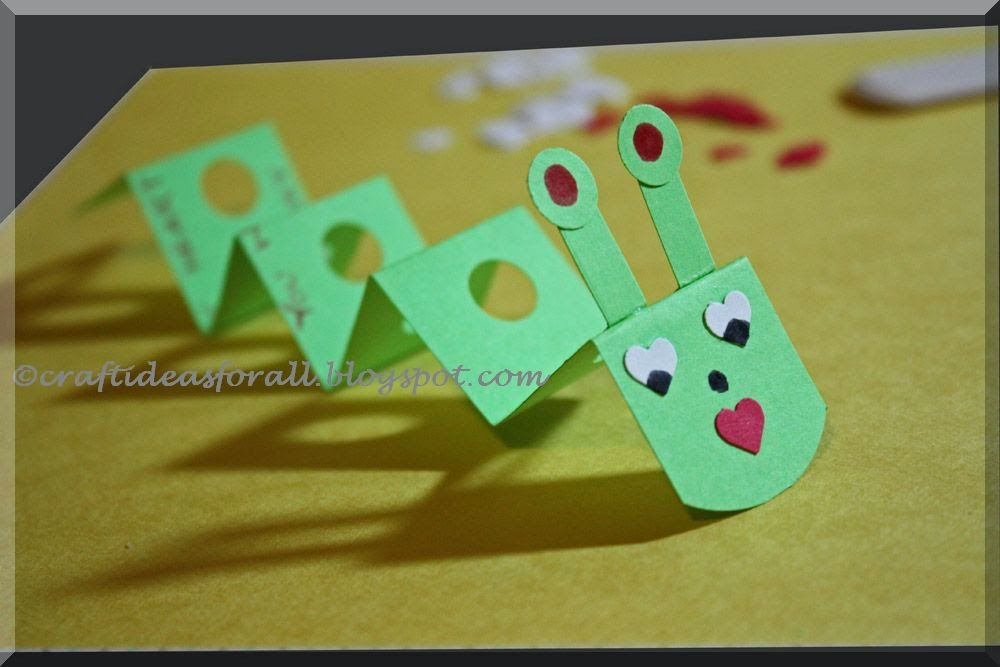 Craft Ideas for all: Handmade Valentine\'s Day Favor for Preschool ...