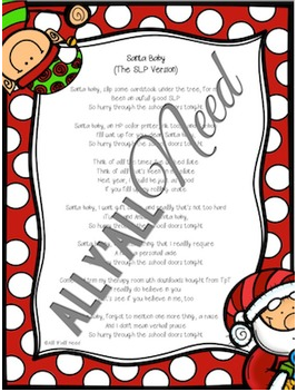 Santa Baby - The SLP Version by All Y'all Need