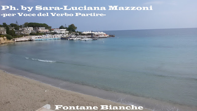 SPIAGGIA DI FONTANE BIANCHE, IN SICILIA