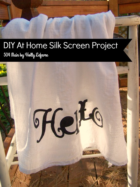 #silkscreen
