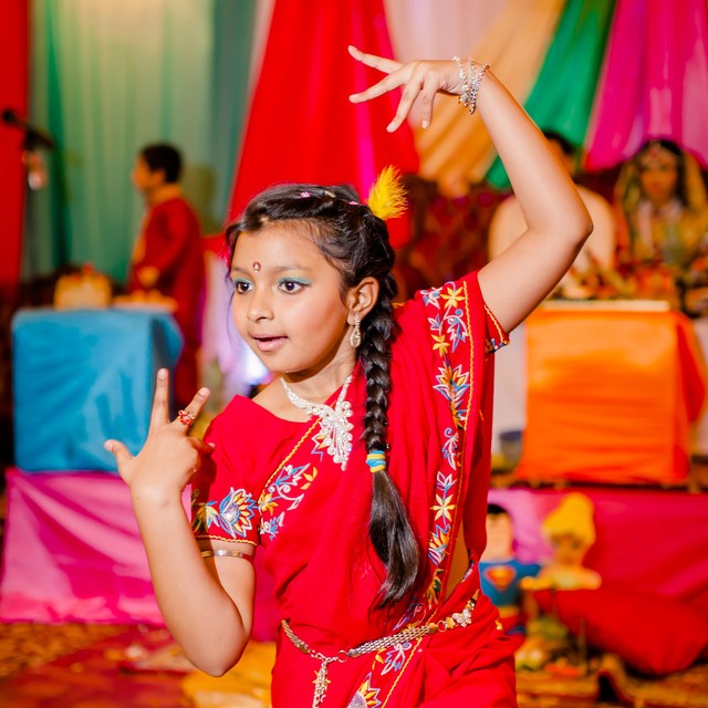 The Sangeet party dance