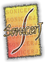 Primer logo de SonicerJ