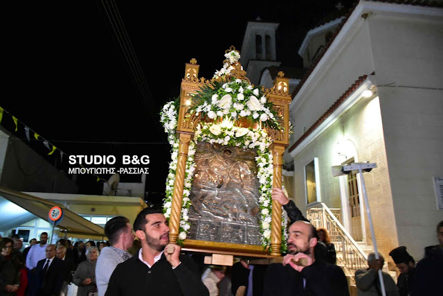 Η εορτή του Αγίου Ενδόξου Μεγαλομάρτυρος Δημητρίου του Μυροβλήτου στον Ίναχο Αργολίδας (βίντεο)
