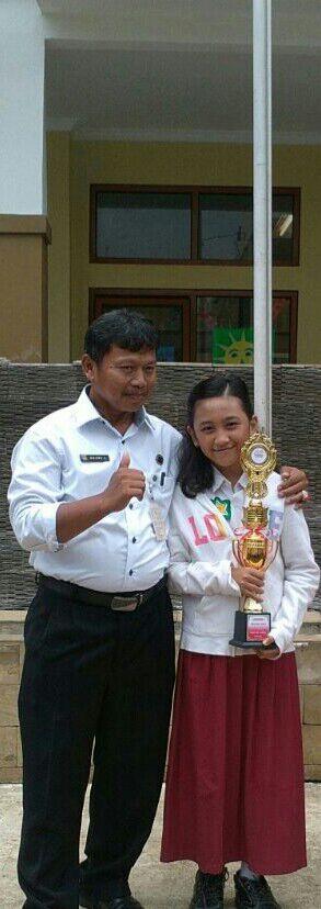 Najwa, Siswa Sukamaju 10 Dibina untuk FLS2N Jabar