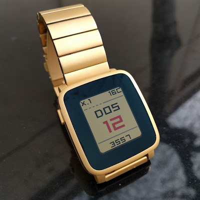 Calentime watchface for Pebble smartwatch
