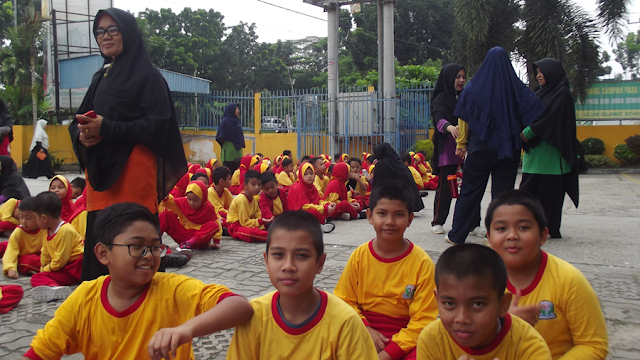 Para siwa SD kelas 1 s.d. Kelas 3 juga ingin ikut lomba literasi