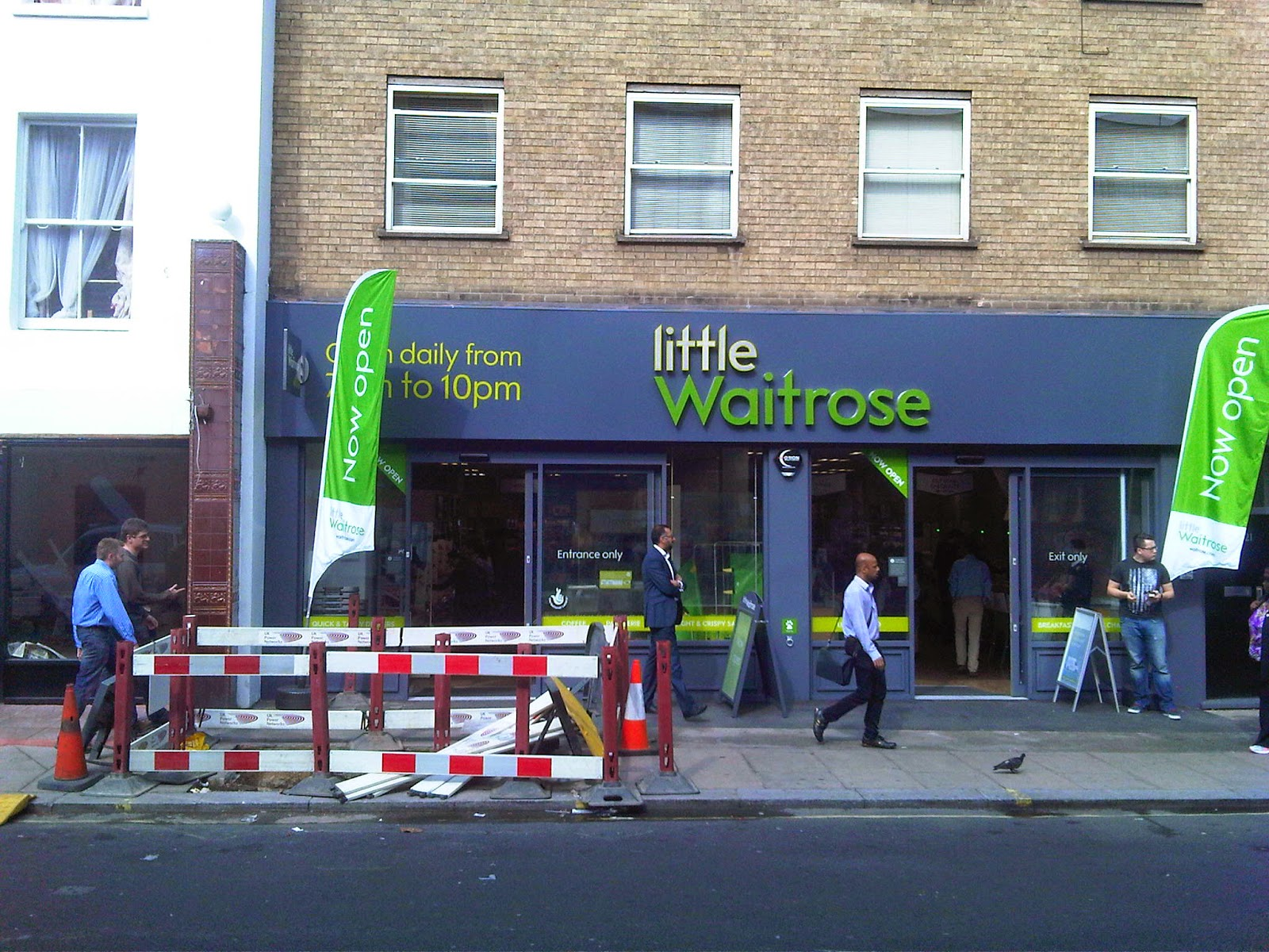 "This new ""Little Waitrose"" in Warwick Way, Pimlico, London SW1 is not little enough for my liking"