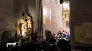 """Estreno de la marcha """"Madre de Dios de los Desamparados"""" por la Banda de Música de las Cigarreras de Sevilla"""